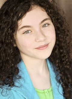 This undated photo provided by Boneau/Bryan-Brown shows actress Lilla Crawford. On Friday, April 27, 2012, Crawford was unveiled as the girl slated to play the title role in a fall revival of the Tony Award-winning musical