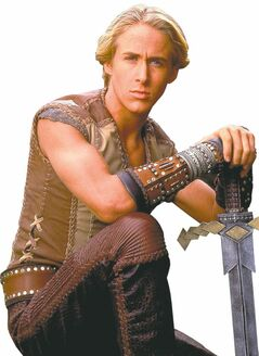 A young Ryan Gosling flexed his biceps in a prequel, Young Hercules
