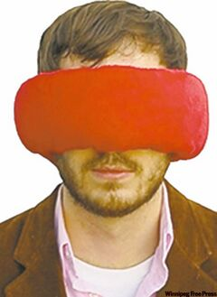 The Wrap-a-Nap pillow/blindfold/earmuff combo.