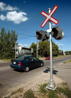The federal government has allocated $1.6 million to improve 79 railway crossings across Manitoba, including seven in the Elmwood-Transcona riding.