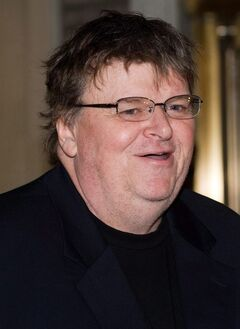 Michael Moore is shown in a March 4, 2010 file photo. Moore will be among the filmmakers to take part in industry events at this year's Toronto International Film Festival. THE CANADIAN PRESS/AP/Charles Sykes