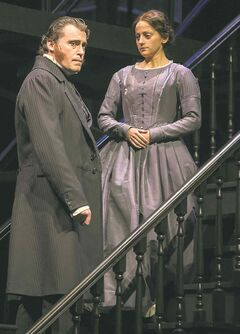 Tim Campbell as Rochester and Jennifer Dzialoszynski as Jane.