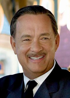 This image released by Disney shows Tom Hanks as Walt Disney in a scene from the film Saving Mr. Banks. (Franv�ois Duhamel / Disney, The Associated Press)