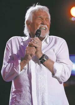 Kenny Rogers performs at MTS Centre tonight.