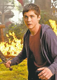 Logan Lerman in Percy Jackson: Sea of Monsters