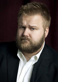 In this undated image released by Feldman Public Relations, Robert Kirkman, creator of the comic book