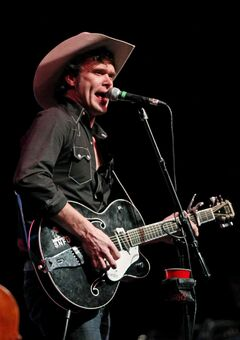 Corb Lund, shown here at a 2012 concert in Brandon, Man., is one of Canada's best songwriters. Catch him this weekend in Birds HIll Park.