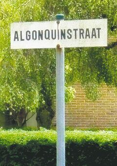 A street in a village near the Belgium city of Bruge honours a Canadian  regiment. Streets in France and the Netherlands convey similar honours.
