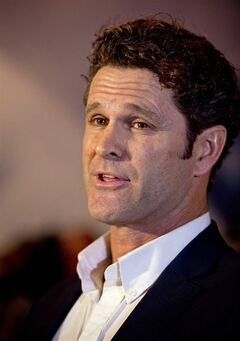 Former New Zealand cricket player Chris Cairns comments as he arrives at the Auckland, New Zealand, airport, Friday, May 30, 2014, after returning from London where he was interviewed by the Metropolitan Police and investigators from the England and Wales Cricket Board and the ICC's Anti-Corruption and Security Unit. Cairns has revealed that former New Zealand captains Stephen Fleming and Daniel Vettori have given statements to the International Cricket Council about his alleged role in match fixing. (AP Photo/New Zealand Herald, Dean Purcell) NEW ZEALAND OUT, AUSTRALIA OUT