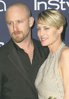 Ben Foster and Robin Wright in January 2014. ( Matt Sayles / Invision / The Associated Press files)