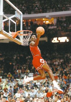While Jordan was a dominant force on the hardwood, he was often criticized for not playing a 'team' game.