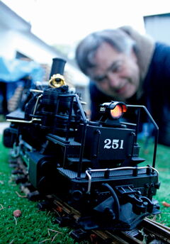 Maurice Dorge says it can be cheap and simple to set up a small scale model train track in your backyard. Dorge is hoping to boost the profile of the hobby at the Manitoba Mega train show and sale Sept. 29 and 30 at the Canlan Sports Centre.