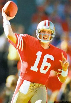 Former San Francisco 49ers quarterback Joe Montana owns four Super Bowl rings and millions of great memories. He'll share some of those memories with Winnipeggers in June.