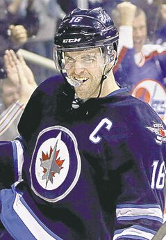Andrew Ladd and the Winnipeg Jets open the 2013-14 NHL campaign on the road against the Edmonton Oilers on Oct. 1.