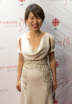 Giller Prize nominee Kim Thuy on the red carpet in Toronto Oct. 30, 2012.