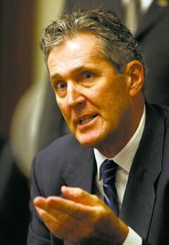 'We've losing jobs. We're losing people,' Brian Pallister said this morning.