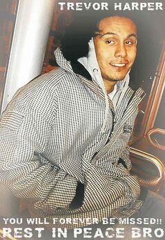 Trevor Harper, 20, was shot dead in April 2011.