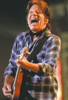 John Fogerty rocks the crowd at the MTS Centre.