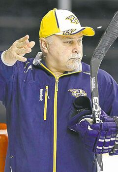 Predators' Barry Trotz says a coaching change 'can drive the team for a while.'
