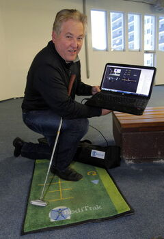 Terry Hashimoto with his BodiTrak mat