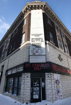 The owner of the St Charles Hotel at 235 Notre Dame Ave. would like to get rid of the building's historical designation so he can tear it down.
