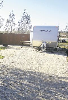 A new seasonal site at Debonair Campground in St. Malo, Mb.