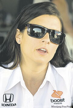 Danica Patrick: web will hit curbs