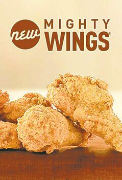 McDonald's new 'Mighty Wings.'