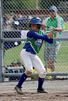 Hitter, catcher and excellent student — Mary Martin has all the tools to be successful.