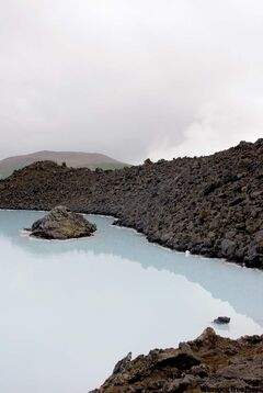Blue Lagoon is an enormous outdoor geothermal pool; its milky opaque water is a mix of sea and freshwater loaded with silica, algae and minerals.