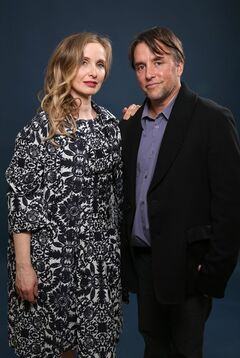 Julie Delpy, left, and Richard Linklater pose for a portrait at the 86th Oscars Nominees Luncheon on Monday, Feb. 10, 2014 in Beverly Hills, Calif. (Photo by Matt Sayles/Invision/AP)