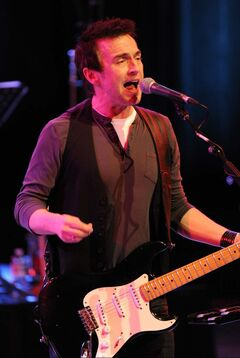 Colin James performs in Edmonton in January, 2010.