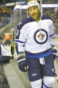 Jets defenceman Dustin Byfuglien might partner with rookie Jacob Trouba in the team's first game.