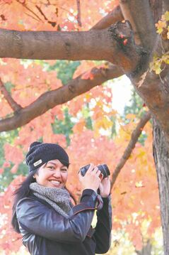 This New Yorker rejuvenates by taking photos in Central Park about once a month.