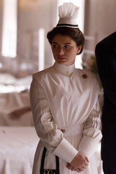 This photo released by HBO shows Eve Hewson as Lucy Elkins in the HBO series,