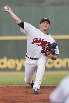 The Winnipeg Goldeyes have trades Matt Rusch to Trois Rivieres of the CanAm League.