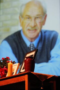 A memorial service for Errol Black was held Nov. 8.