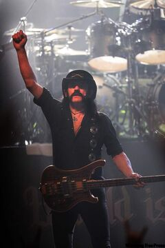 Motorhead at the Burton Cummings Theatre in Winnipeg in February.
