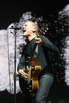 Bryan Adams lets 'er rip at the MTS Centre Friday night.