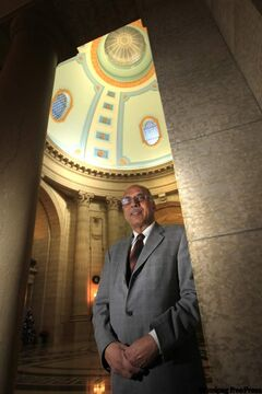 Mohinder Saran arrived in Manitoba from India as a temporary worker in 1970. Now he's an MLA.