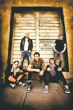 Simple Plan turned to fans when writing This Song Saved My Life.
