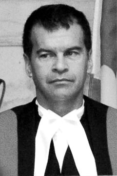 Chief provincial court Judge Ken Champagne