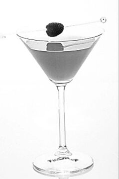 Ras-Apple Pie Martini