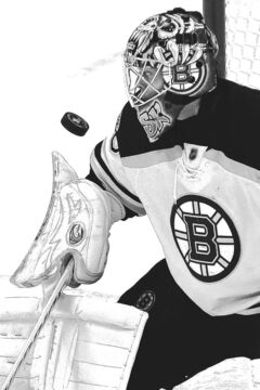 Chicago goalie Corey Crawford and Bruins goalie Tuukka Rask (right) were steady in the regular season and have been brilliant in the post-season.