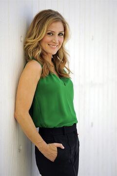 In this Wednesday, June 18, 2014 photo, actress Sasha Alexander poses for a portrait in Los Angeles. Season five of Alexander's crime drama