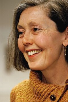 Toronto-born wordsmith Anne Carson, shown in this undated handout photo, picked up the $65,000 Griffin Poetry Prize on Thursday night for her colletion