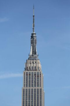 The Empire State Building in midtown Manhattan was completed in 1931.