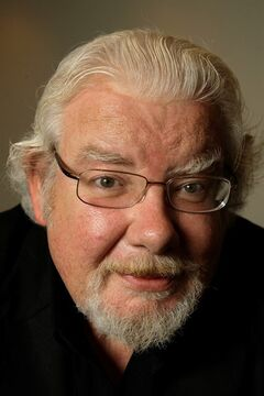 Actor Richard Griffiths poses for a photograph in New York, in this Wednesday, June 18, 2008 file photo. Griffiths, the British actor who played the boy wizard's unsympathetic Uncle Vernon in the