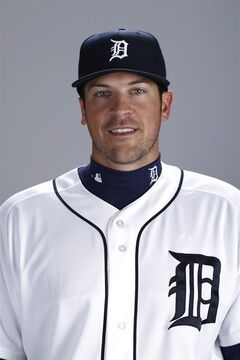 FILE - This is a 2014 file photo showing Evan Reed of the Detroit Tigers baseball team. Reed plays for the Triple-A Toledo Mud Hens but was with the Tigers in March when an alleged assault occurred. Wayne County Prosecutor Kym Worthy announced Wednesday, July 30, 2014, that Reed is charged with third-degree criminal sexual conduct. (AP Photo/Gene J. Puskar, File)
