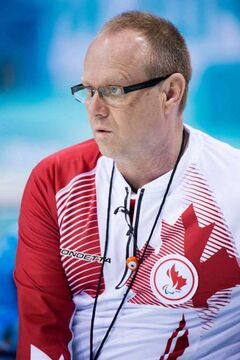 Dennis Thiessen, of Sanford, is vice-skip on Canada's Wheelchair Curling team, which is now tied for first place at the 2014 Sochi Paralympic Games.